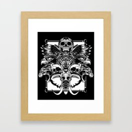Top of the Food Chain Framed Art Print