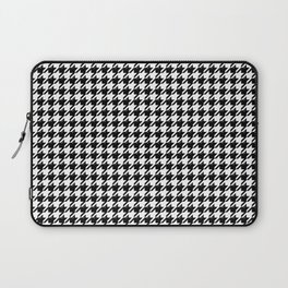 Houndstooth Classic With Bevel Laptop Sleeve