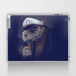 Turtlenecked Sea Captain Laptop & iPad Skin