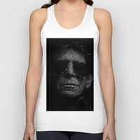 lou reed Tank Tops featuring LOU REED, SO FREE. by Robotic Ewe