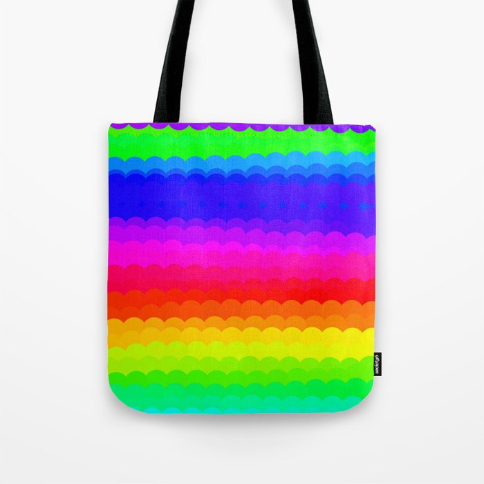 Rainbow Color S27 Tote Bag