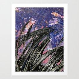 Blue + Purple (MPH) Art Print