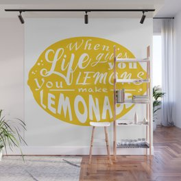 Lemonade Wall Mural