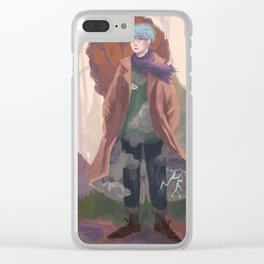 Weather wizard Clear iPhone Case
