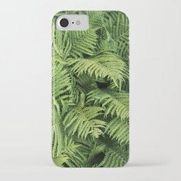 Fern Leaves Photography iPhone Case