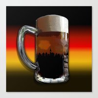 german Canvas Prints featuring German Sunset by G.B.Artdesign