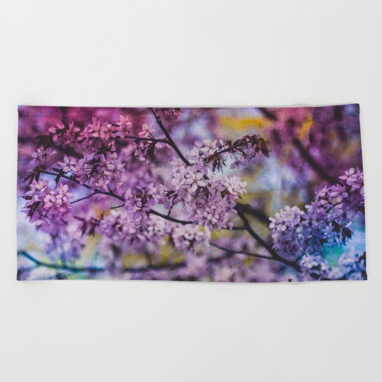 Spring Bloom Beach Towel