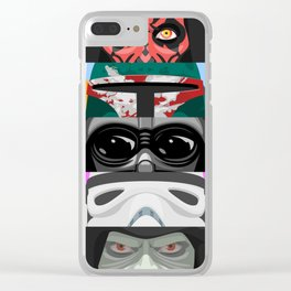Star - Eyes of the dark side - Wars Clear iPhone Case