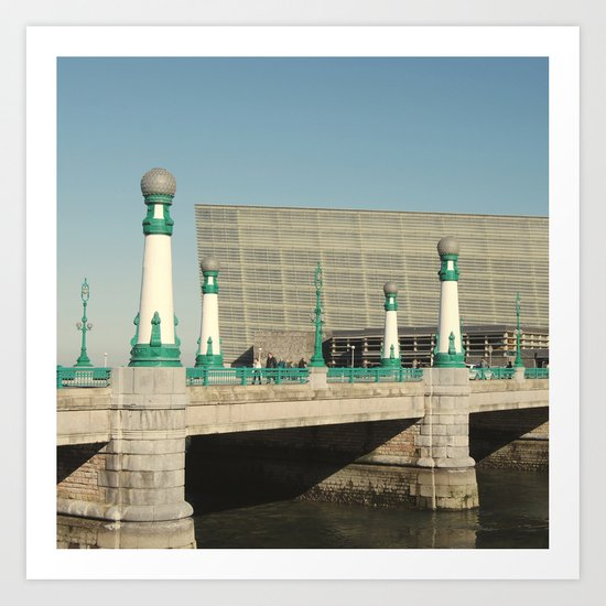 Kursaal Bridge Art Print