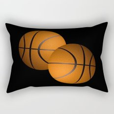 Basketball Design  Rectangular Pillow