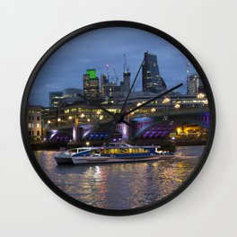 Thames London Twylight Wall Clock