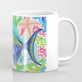 Parrot Fish & Ocean Creatures Coffee Mug