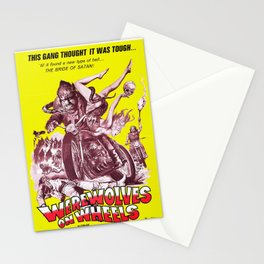 Werewolves on Wheels Stationery Cards
