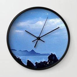 Violent Shores Wall Clock