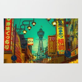 Osaka Nights - Shinsekai, New World / Liam Wong Rug