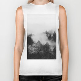 End in fire black & white (requested) Biker Tank