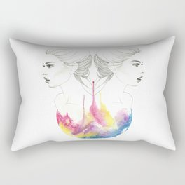 zodiac - gemini Rectangular Pillow
