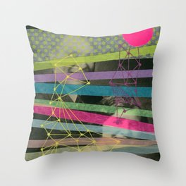 We're All Made Of Stars Throw Pillow