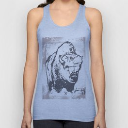 Bison - Abstract Unisex Tank Top