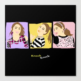 Knock Knock! Chaeyoung Version Canvas Print