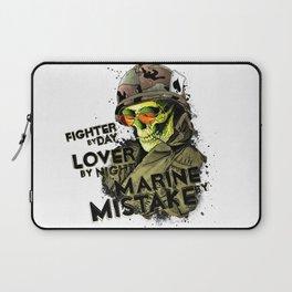 Dead marine Laptop Sleeve