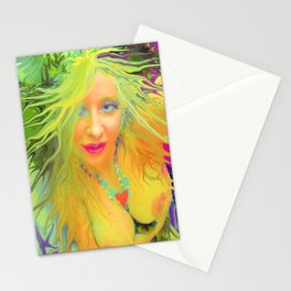 Art,fairy wood nymph,Nude ladykashmir hot ,pink,yellow,i pod,lap top,t shirt,cups,tote ,bags, Stationery Cards