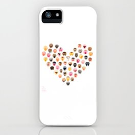 Vulva Heart - The Vulva Gallery iPhone Case