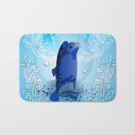 Cute walrus Bath Mat