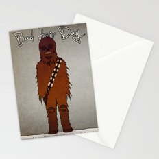 bad hair day no:3 / Chewbacca  Stationery Cards