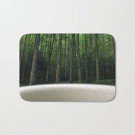 Breakfast View, Smoky Mountain Tennessee Bath Mat