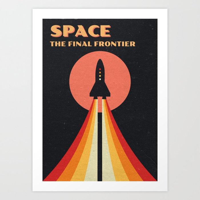 Découvrez le motif SPACE - THE FINAL FRONTIER par Andreas Lie en affiche chez TOPPOSTER