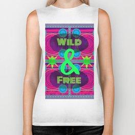 Wild & Free Biker Tank