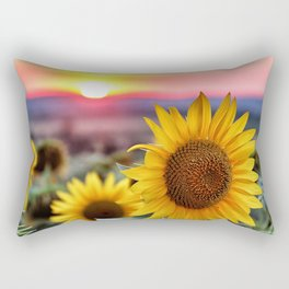 Flower Photography by Chastagner Thierry Rectangular Pillow