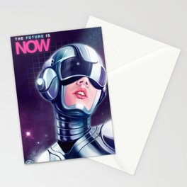 The future is now Stationery Cards