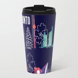 I heart Toronto (navy) Travel Mug