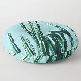 Green Cactus 7 Floor Pillow