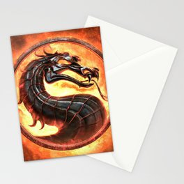 MK Game Logo Stationery Cards