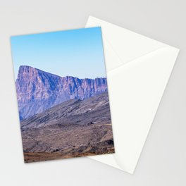 Oman: Mountain near Jebel Shams Stationery Cards