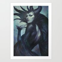 wicked Art Prints featuring Wicked by Artgerm™
