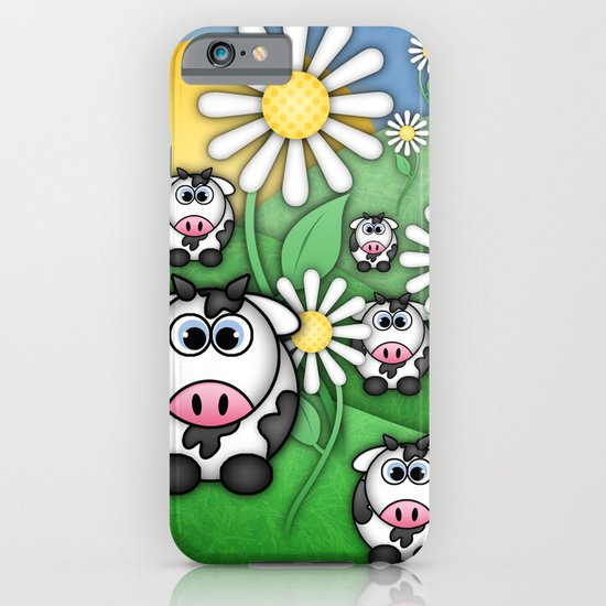 Cows & Daisies  iPhone & iPod Case