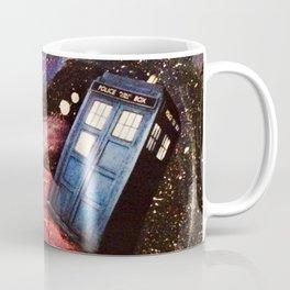 TARDIS in space Coffee Mug