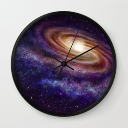 Sidereus Galaxy Wall Clock