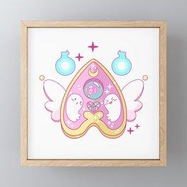 Kawaii Ouija Framed Mini Art Print