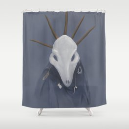 An Old God Shower Curtain