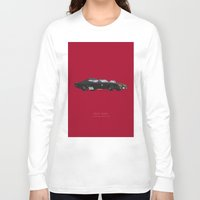 mad max Long Sleeve T-shirts featuring Mad Max | Famous Cars by Fred Birchal