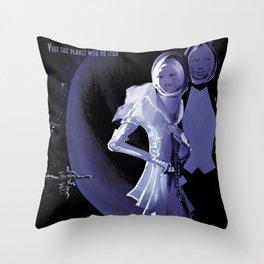 NASA Retro Space Travel Poster #10 PSO J318.5-22 Throw Pillow
