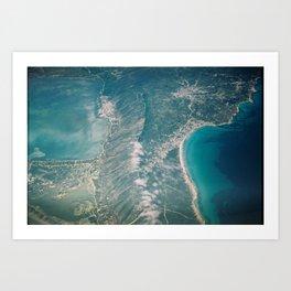 Beautiful landscape Art Print