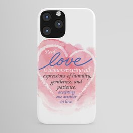 Real Love iPhone Case