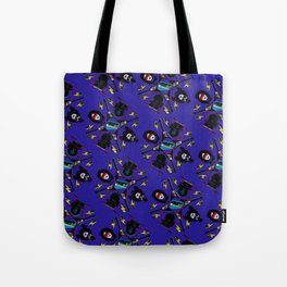 pop pattern_heavy metal Tote Bag