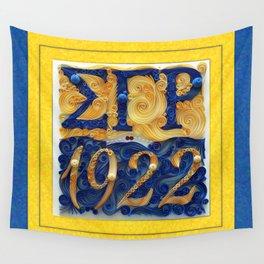 Sigma Gamma Rho 1922 Wall Tapestry